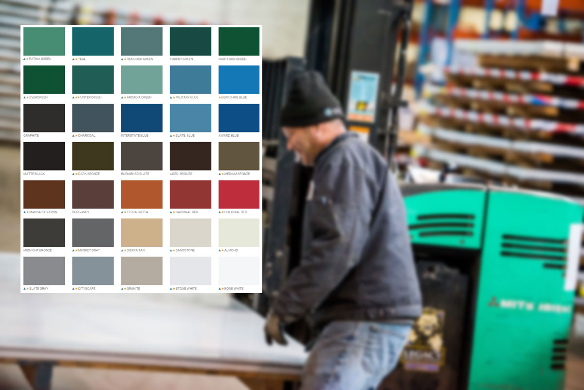 painted architectural sheet metal products minneapolis mn